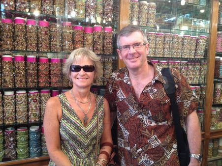 30 years later, buying some wedding bangles