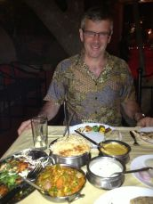 Tandoori kebabs and biryani at the Paradise