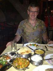 Tandoori kebabs and biryani at the Paradise