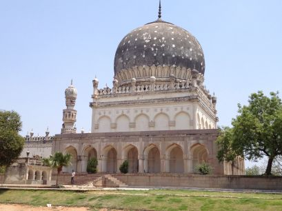 Tomb of Queen Hayat Baksh Begum, wife of founder of Hyderabad