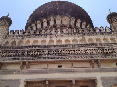 Detail form Quli Qutb Shah's tomb