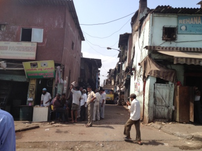 outskirts of Dharavi