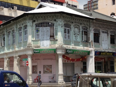 Old shop houses in Little india