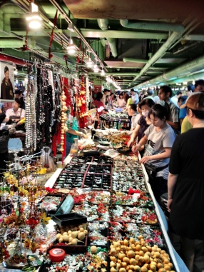 The weekend Jade market, Taipei
