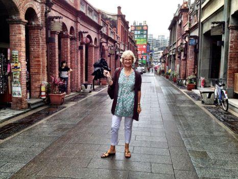 in Sanhsia 'old street