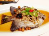 steamed pomfret