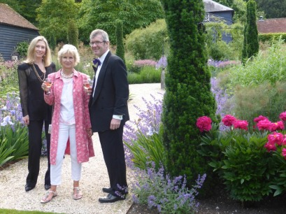 The glorious new gardens at Garsington Wormsley - with Clare Cooper and Ross