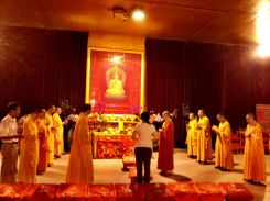 The cleansing ceremony at the Jing'an Temple