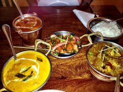 Kinara curry - yum!