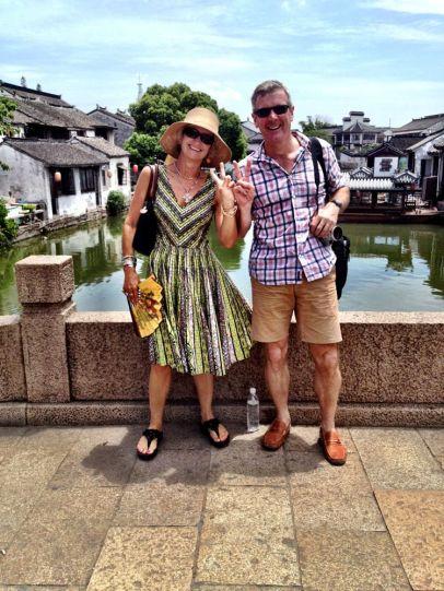 In Tongli Water Village, China