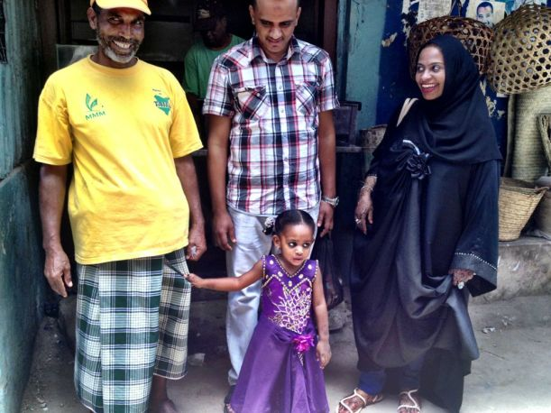 Our guide Ali with his family