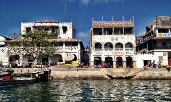 Lamu sea-front - unchanged for centuries
