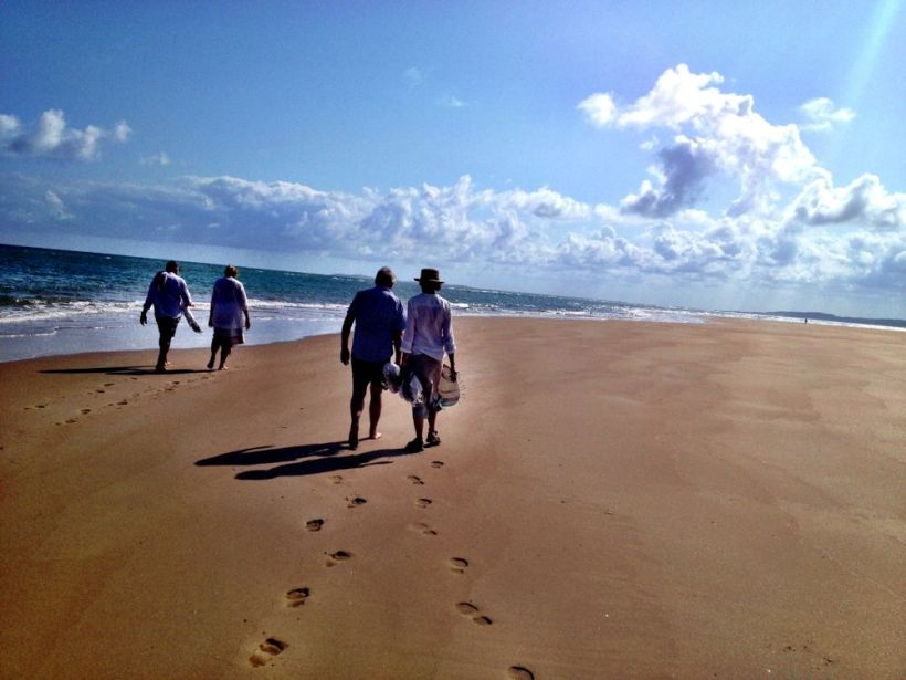 the 13 km beach...