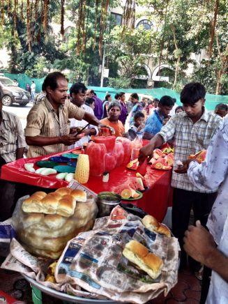 Fresh fruit stall at the Bombay Gateway