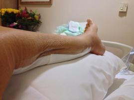 my neat little leg