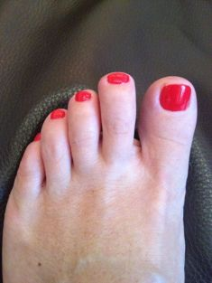 I had a pedicure to cheer me up! After all my feet are on constant display!
