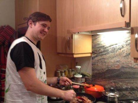The master chef!
