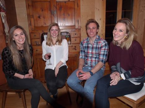 The Youngies: Charly, Olivia, Tom  and Katie
