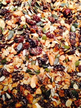 Home-made granola