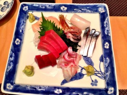 That's some sashimi!