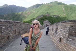 The Great Wall: boopy doop do do (my Marilyn imperonsonation)