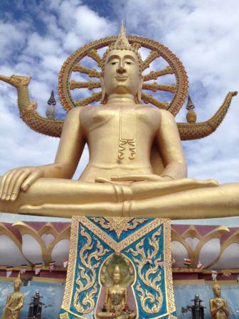 The giant Buddha, meditation ahoy!