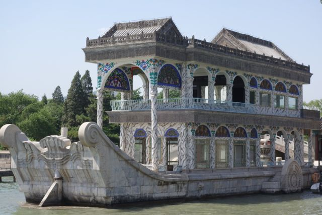The Jade Boat where Empress Cixi took her breakfast every day