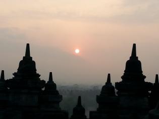 Indonesia: Borbudur at sunrise