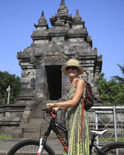 Borobudur on a bike