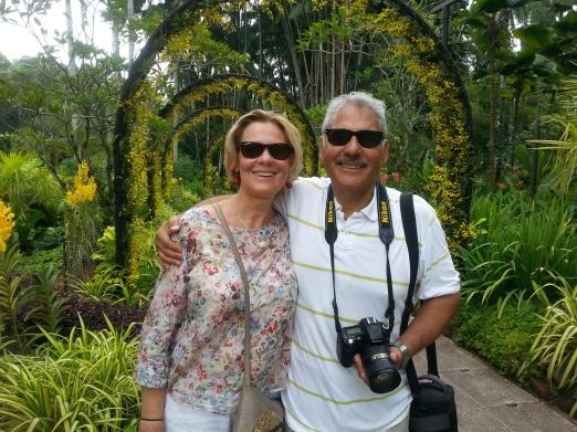 Sing: Botanic Gds w Chrsitine and Diego