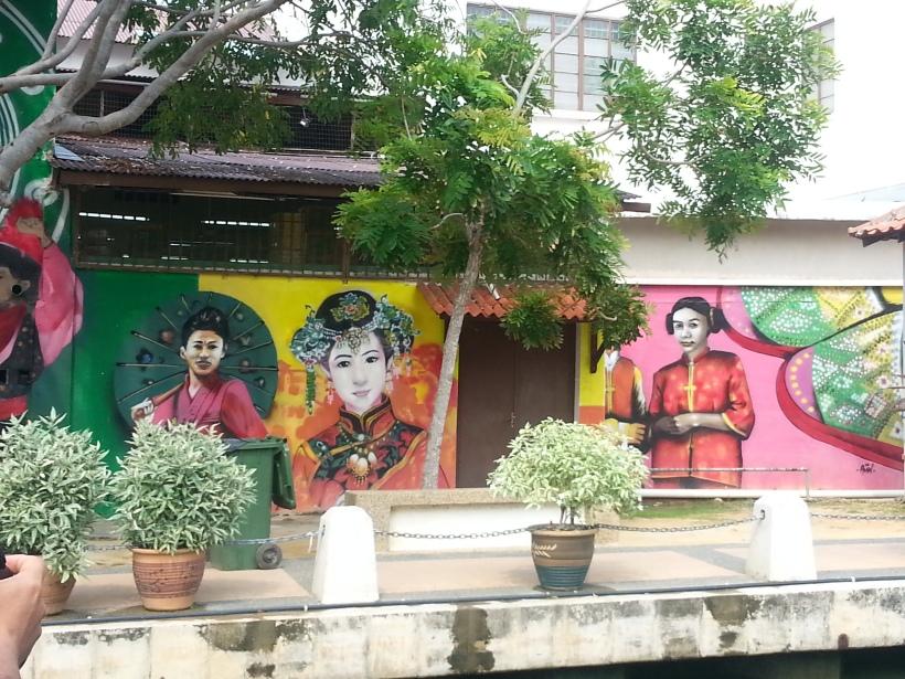 The fabulous murals in Malaka
