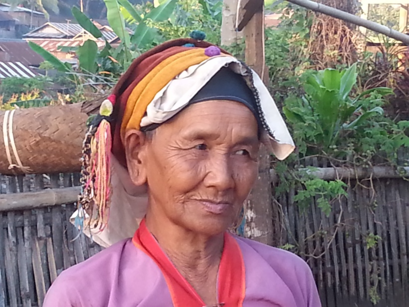 Palaung woman in Pamkam village