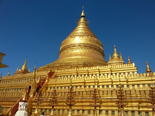 The most sumptuous of allBagan pagodas