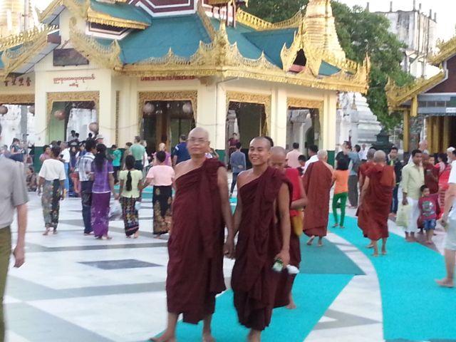 Monks at the Swedagog