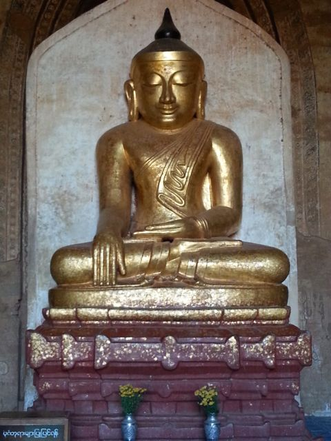 Magnificent golden Buddha form 11th century