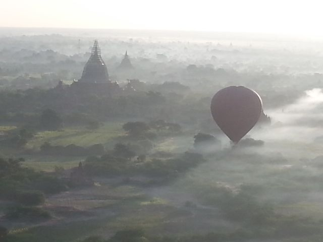 Pagodas at dawn