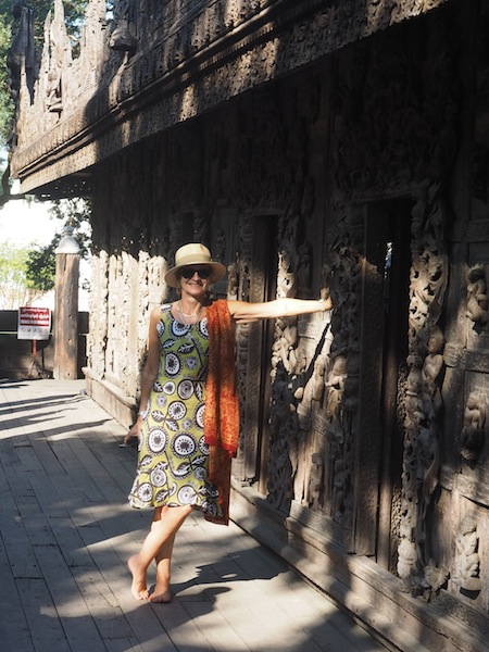 Posing in Mandalay
