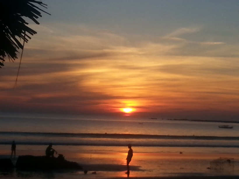 Another fabulous sunset, Ngapali beach, Myanmar