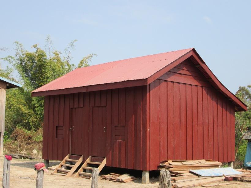Teacher house in Kiri Vong Sa school