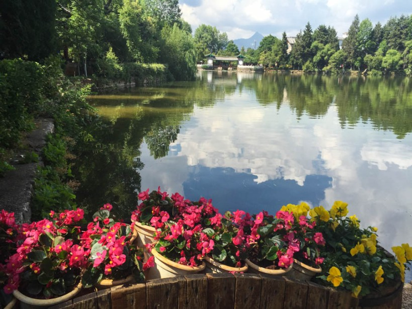 Reflection in Black Dragon Lake