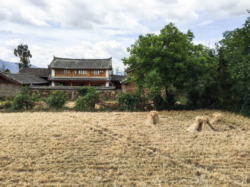 Yuhu village scene