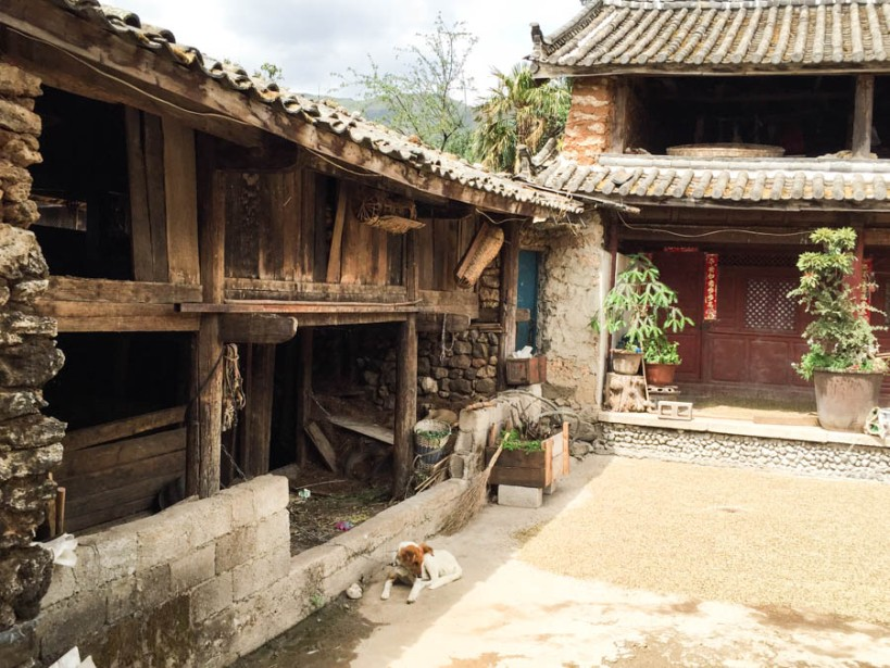 Traditional house in Yuhu