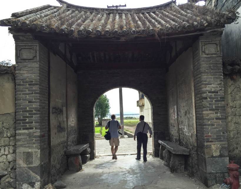 Old gateway in Xizhou