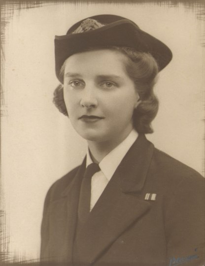 My mother when commissioned in 1941