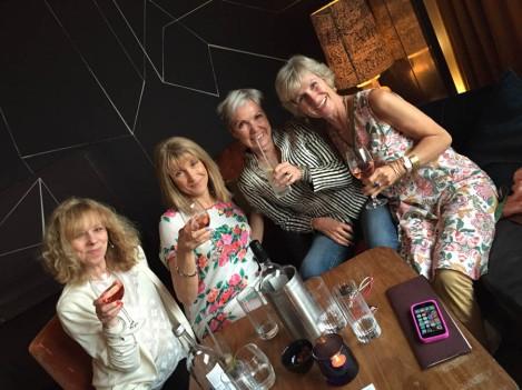 Binky, Kim, Janet and me