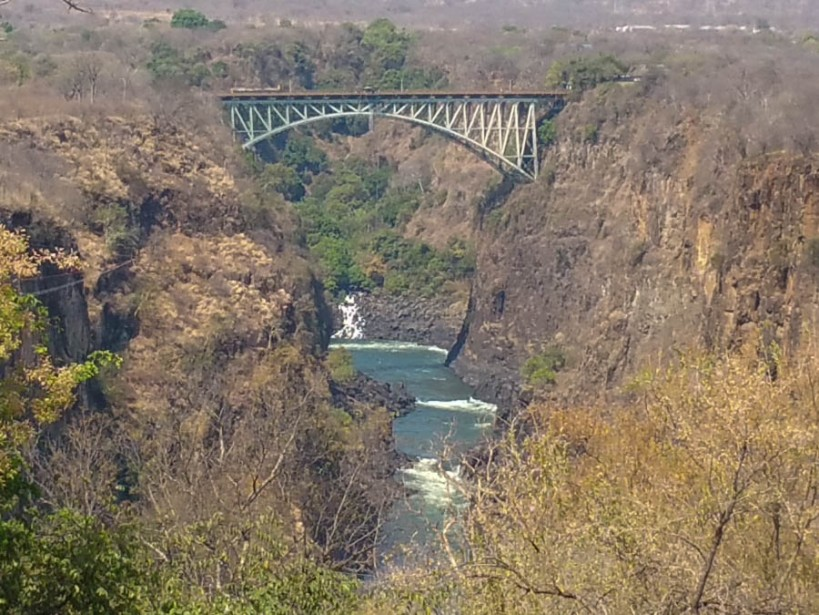 The bungee jumping bridge