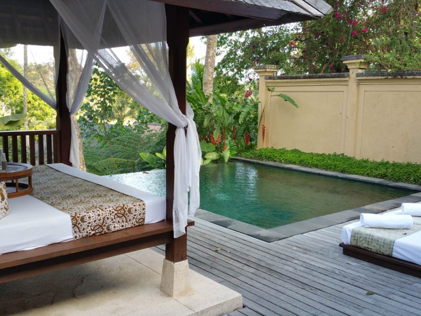 Our plunge pool