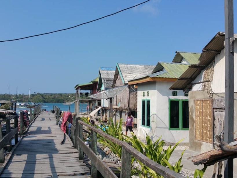 Houses on stilts
