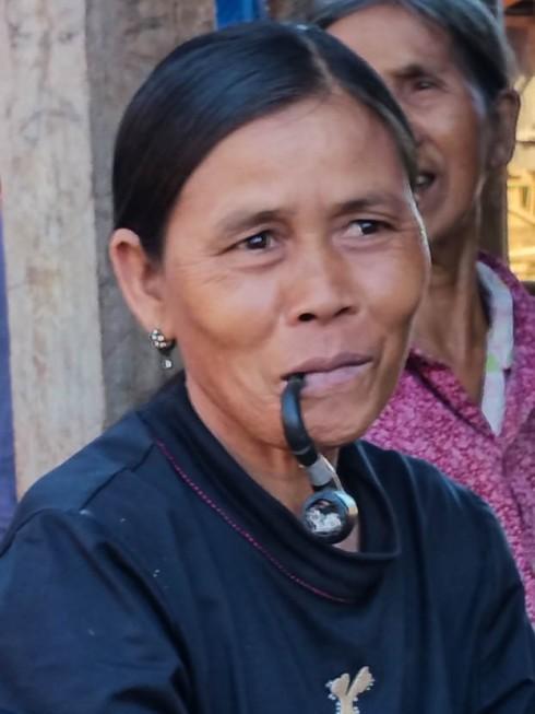 Cambodia: village woman