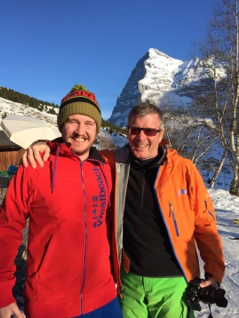 Under the Eiger with Dad